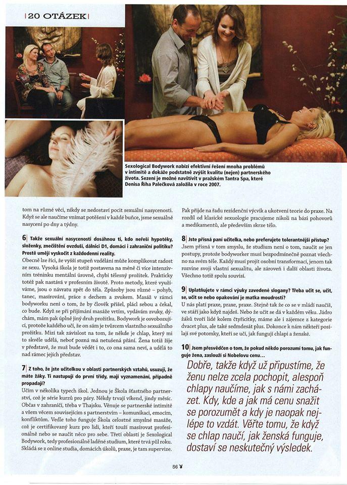 Playboy, sex, denisa palečková, vaginální mapování 3