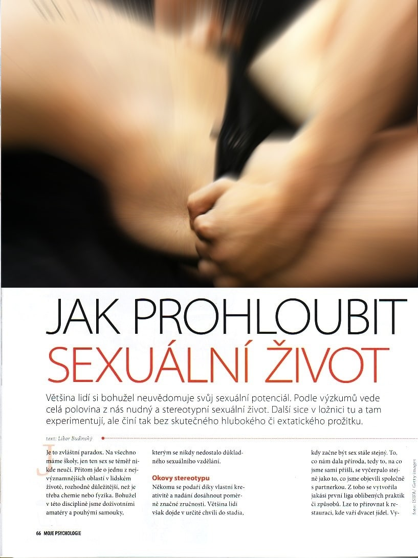 moje psychologie, denisa a richard, emoce, láska, sex 1